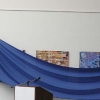 Il telo blu di copertura